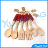 Wooden Fork & Spoon Utensil Sets