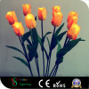 Yellow Tulip LED Flower Lights for Garden Decoration