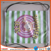 Custom Printing Nylon Cute Drawstring Backpack for Kids