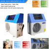 Domestic Hot Water 60deg. C 220V Tankless 5kw 260L, 7kw, 9kw High Cop5.32 Save 80% Energy Solar Air to Water Generator Heat Pump