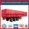 3axle 50t Bulk Cargo Truck Tractor Utility Box Semi Trailer