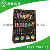 Customized Eco-Friendly Happy Birthday Printed Paper Bags for Packing Gift