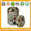 Airtight Metal Canister Tin for Sugar Tea Coffee Chocolate Candy