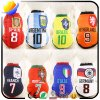 Pet Dog World Cup Clothes Pet Vest with 8 Team Jersey