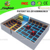 Professional Manufacturer Big Indoor Kids Trampoline Jumping Bed (14-3022)