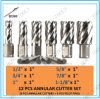 High Speed Steel Annular Cutter Set