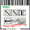 Shop Fitting Supermarket Wire Grid Display Shelf for Snack