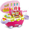 Hot Sale Kids Kitchen Set Toy with Light and Music