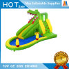 Garden Toy Inflatable Giant Animal Slide with Water Gun