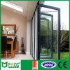 Powder Coated Aluminium Double Glazing Bi-Folding Door Pnoc0070