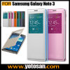 Offical Flip Smart Cover PU Leather Case for Samsung Galaxy Note 3