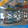Ce Warehouse Hydraulic Scissor Elevator Machine for Cargo