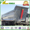 3 Axles Transport Stones Sand Tipping Trailer
