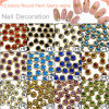 12 Colors Round Renh Gemstone Nail Charms Decoration