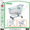 100L Zinc Shopping Trolley with Lower Bottom