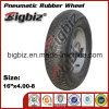 "Shandong 16"" Black Solid Rubber Wheelbarrow Tire Manufacturing"