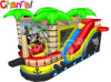 Pirateship Bouncer Combo/Inflatable Castle with Slide Bb149