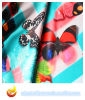 Digital Print Satin Polyester Fabric for Dress (XY-P20150031S-2)