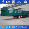 3 Axles Heavy Duty High 40FT Cargo Trailer for Sale
