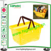 Best Selling Supermarket Plastic Baskets 28L