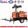 Mobile Light Tower by Kubota Engine Power 9m 4000W