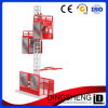 High Speed 2t Cages Building Hoist
