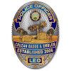 Professional Metal Police Badge Manufacturer (XS-B0016)