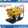 Dual/ Multi Fuel Generators (diesel fuel, HFO, Nature Gas, Biogas)