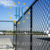 Black Coated Twisted Chain Link Fence