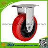 Industrial Fixed Polyurethane Wheel Caster