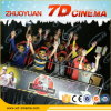 Thrilling 7D Cinema Equipment, 7D Theater with Gun Shooting 7D Cinema System