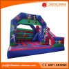 China Mermaid Jumping Moonwalk Bouncer with Slide Combo (T3-302)