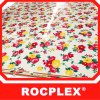 Flower Color Polyester Plywood Rocplex