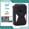 OEM 1440p Police Body Wearable WiFi Camera / Waterproof Live Streaming Body Camera with 4G GPS