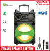 Feiyang/Temeisheng Speaker Wooden Box Speaker Trolley with Light and Bt Control 12inch Woofer with Color Net Outdoorsubwoofer F12-10