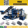 Qt4-18 Automatic Hydraulic Concrete Block Making and Moulding Machine in Ghana