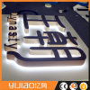 Back Lit Three D LED Hand Polished Stainless Steel Channel Letter