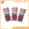 Custom Rose Flowershape Paper Air Freshener/Car Air Freshener with Paper Card (YB-CB-115)