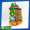 POS Supermarket Cardboard Pallet Display for Chocolate Christmas Goods