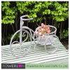 Eco-Friendly Elegant White Metal Bicycle Stand