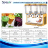 17L Three Tank Cold & Hot Juice Dispenser