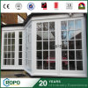 PVC Exterior Hurricane Impact French Door Grill Design