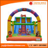 2017 Animal Bouncy Slide Inflatable Double Lane Bouncer Slide (T4-226)