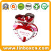 Heart-Shaped Candy Tin for Food, Sweets Can, Confectionary Tin Boxes