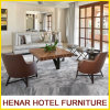 Living Room Furniture Couch Sofa Set/Oak Wood Lounge Chair