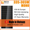 Made in Vietnam 350W Monocrystalline Solar Power System