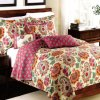 Washable 3PCS Comforter Set Light Weight Quilt Quality Hotel Bed Spread