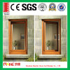 Wood Grain Aluminum Tilt and Turn Window