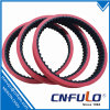 Coated Timing Belt, Red Rubber Timing Belt, 225L