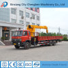 Hydraulic Boom Mobile Wheel 12ton Truck Mounted Crane